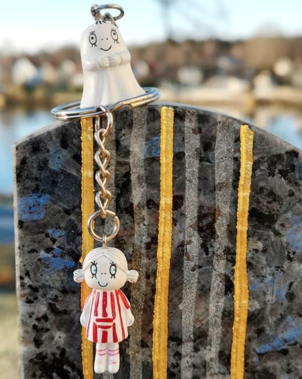 Nyckelring 3D Lilla Anna