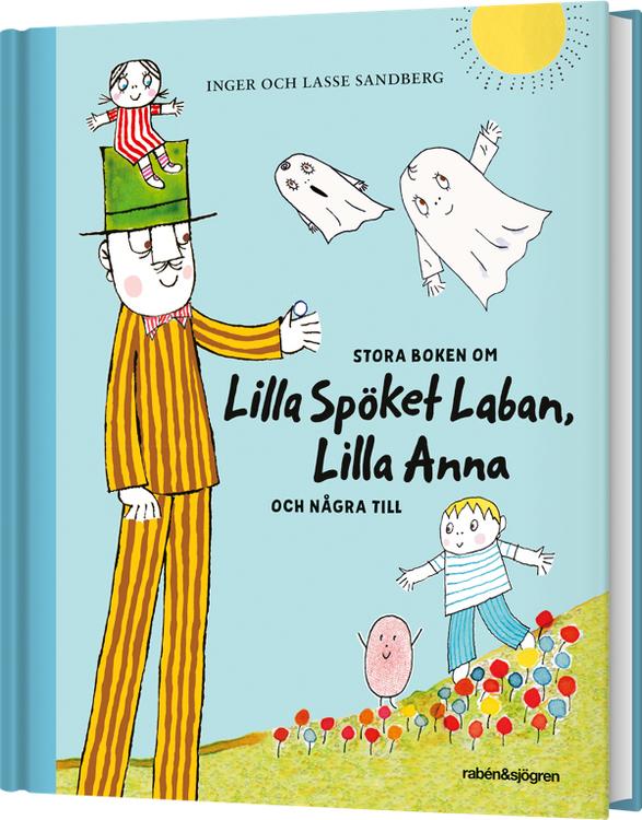 Stora boken om Lilla Spöket Laban och Lilla Anna