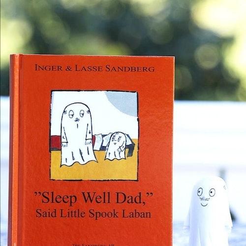 """""""Sleep Well Dad"""" Said Little Spook Laban"""
