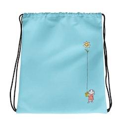 Gympapåse Lilla Anna blomma, blå