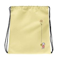 Gympapåse Lilla Anna blomma, gul
