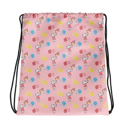 Gympapåse Lilla Anna garnnystan, rosa