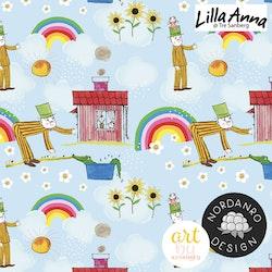 Lilla Anna & Långa Farbrorn Sky Blue (009) Jersey