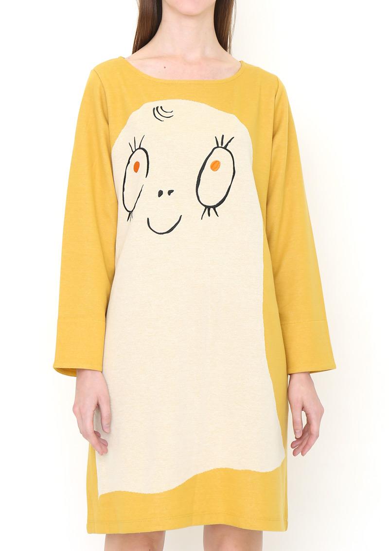 Klänning gul (vuxen)