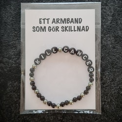 Armband Kill Cancer 17