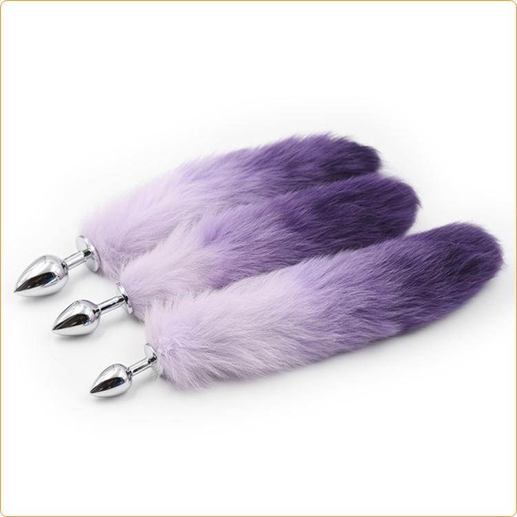 Fox tail, Small, finns i rosa och lila