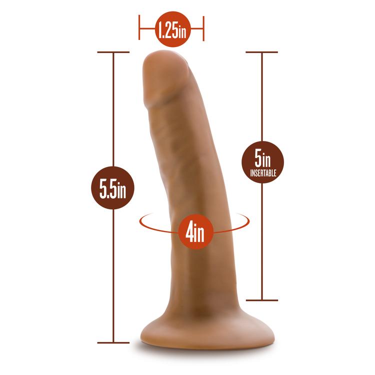 Dr. Skin 5,5 inch dong med sugkopp