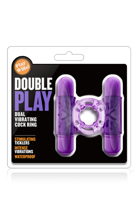 Play with me, double play cockring