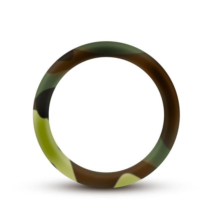 Performance silicone camo cock ring
