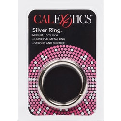 Calexotix, silver ring, medium