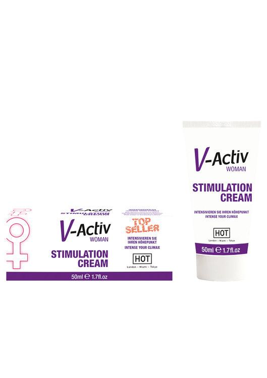 V-Activ, Stimulerande kräm 50ml