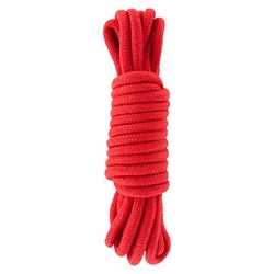 Hidden Desire, bondagerep 5 m, rött