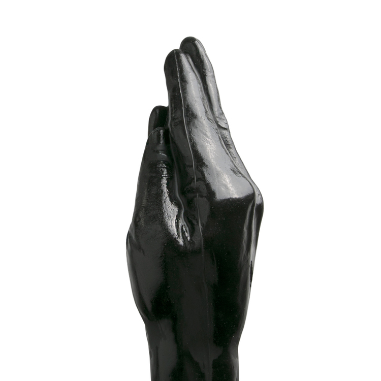 All black, Fisting Dildo 39 cm