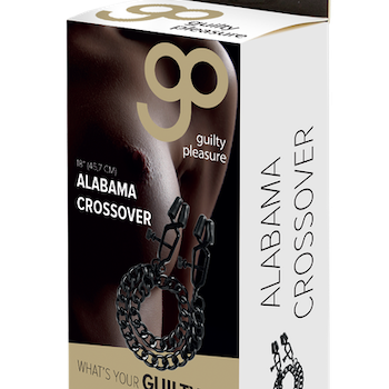 Alabama crossover nipple clamps