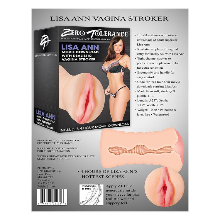 Vagina Stroker, Lisa Ann