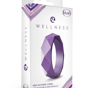 WELLNESS GEO C RING PURPLE