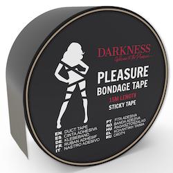 Darkness, sticky tape 15 m, svart