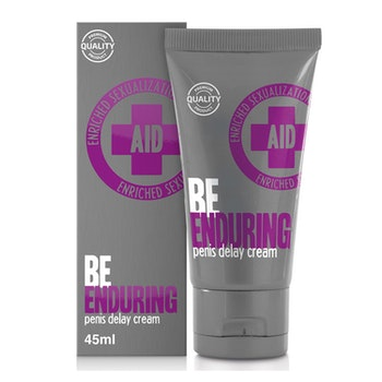 Aid, Be enduring, penis delay cream