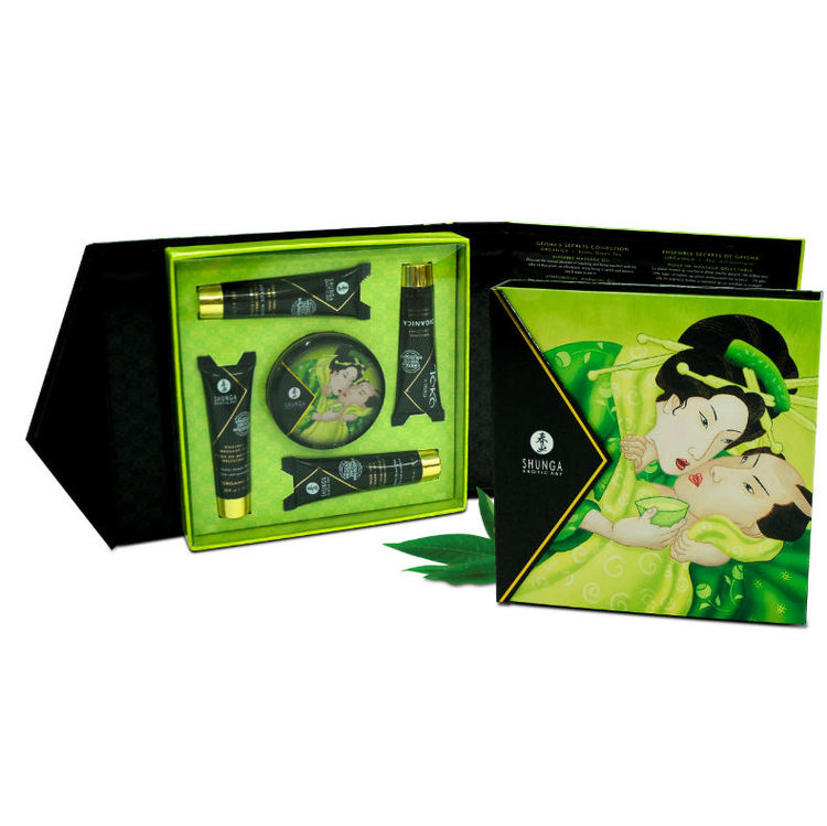 GEISHA SECRET KIT EXOTIC GREEN TEA