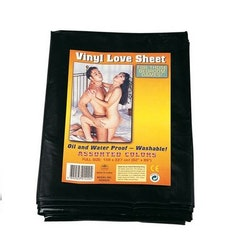 Vinyl love sheet, svart