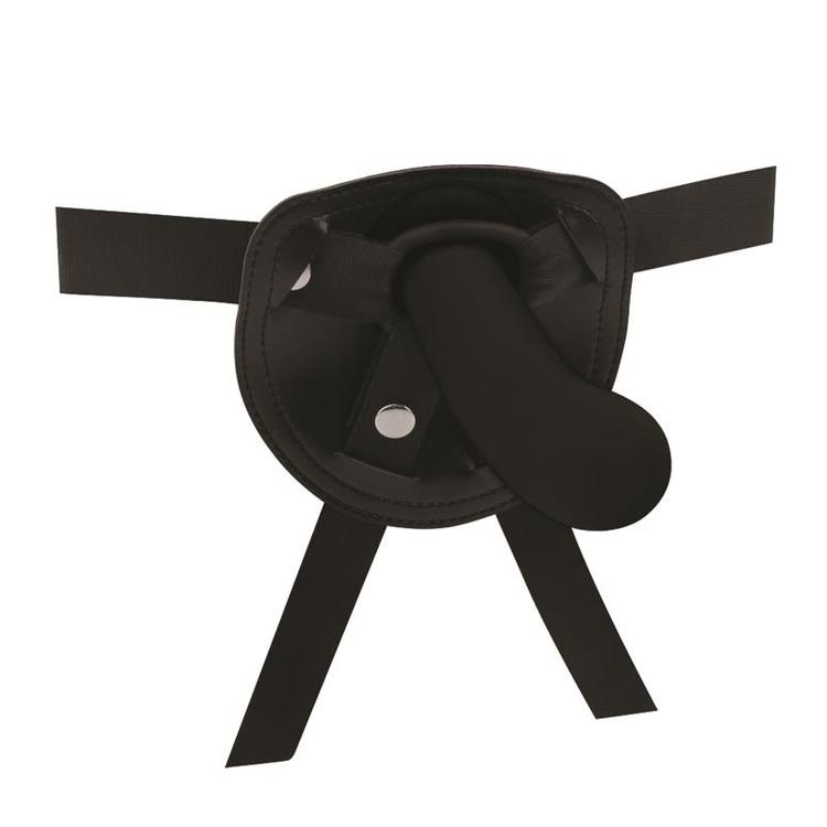 Raw Recruit, harness med dildo i silikon