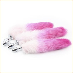 Fox tail, Medium, rosa