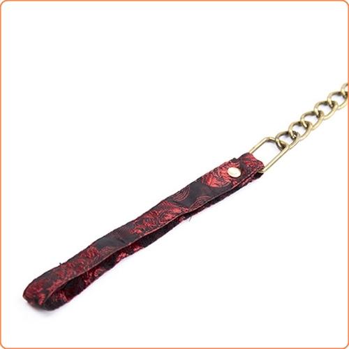 Halsband i jacquard