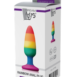 Colorful Love, Rainbow plug, medium