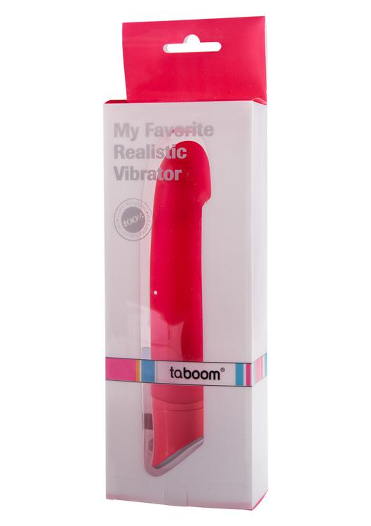 My Favorite Realistic Vibrator, rosa