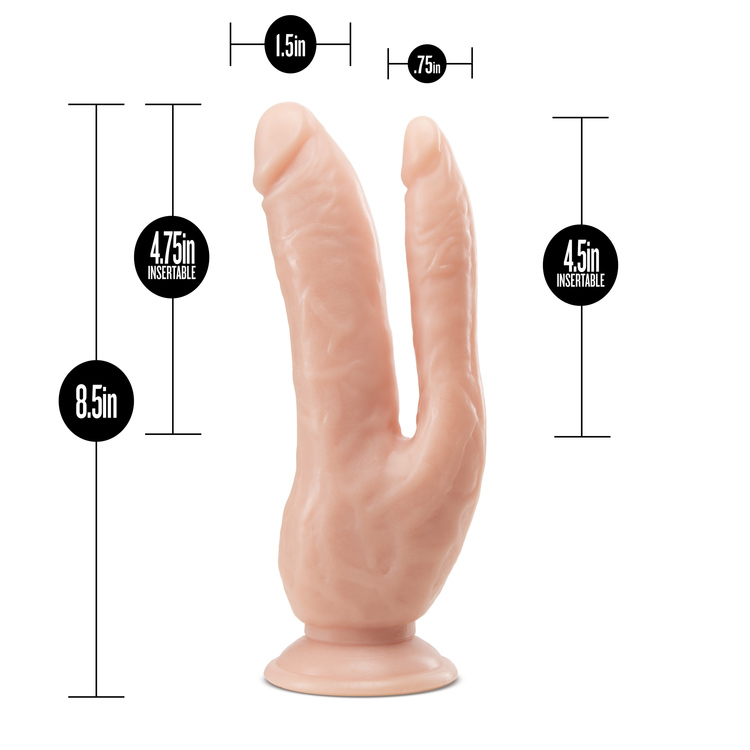 Dr. Skin, 8inch dp cock