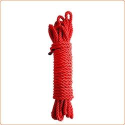 Bondagerep, ca 9,5 m, rött