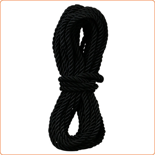Bondagerep, ca 9,5 m, svart