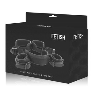 FETISH SUBMISSIVE OPEN LEG SET