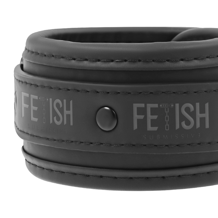 FETISH SUBMISSIVE HOGTIE AND CUFF SET
