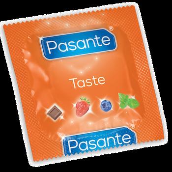 Pasante Taste, blandade smaker - jordgubb, choklad, blåbär, mint