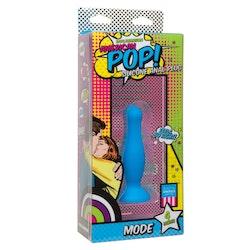 POP! Mode Anal Plug 4  Inch, blå