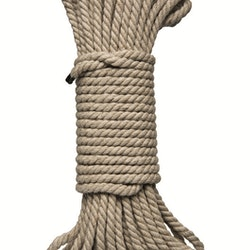 Kink Bondage Rope 50 Ft/15 m,  Natural hemp