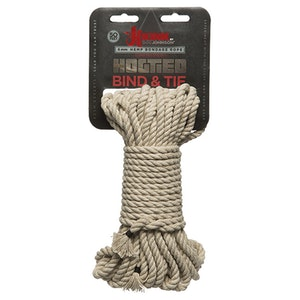 Kink Bondage Rope 50 Ft/15 m,  Natural hemp