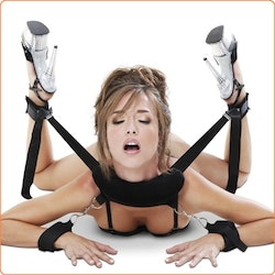 Sex Position Master with Restraint Cuffs