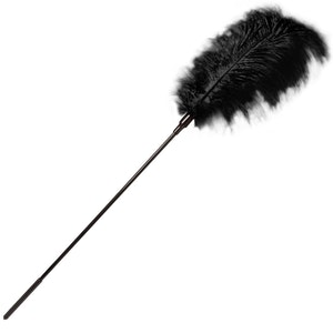 GP, Large feather tickler, Svart