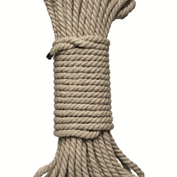 Kink Bondage Rope 30 ft/9 m, Natural hemp