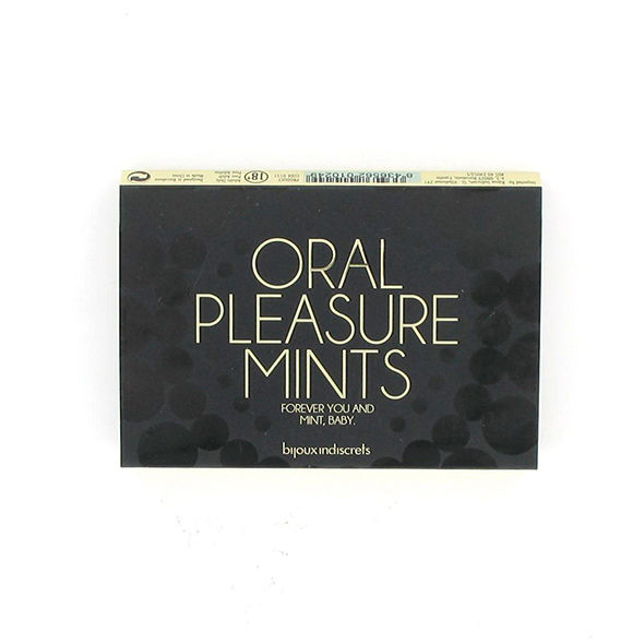 BIJOUX INDISCRETS ORAL PLEASURE MINTS PEPPERMINT
