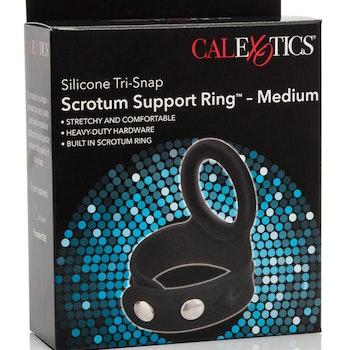 3-Snap Scrotum Ring - Medium