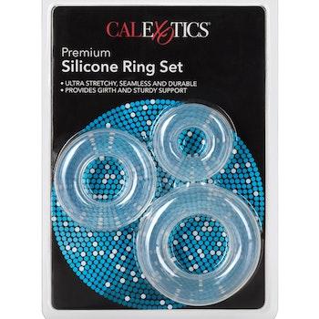Premium Silicone Ring Set