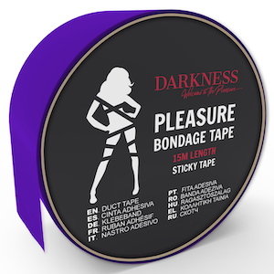 Darkness, sticky tape 15 m, lila
