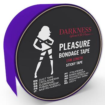 Darkness, sticky tape 15 m, lila