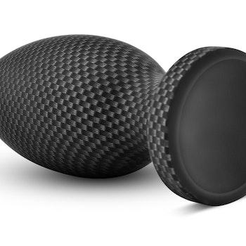 Spark silicone plug, Carbon fiber look, Small