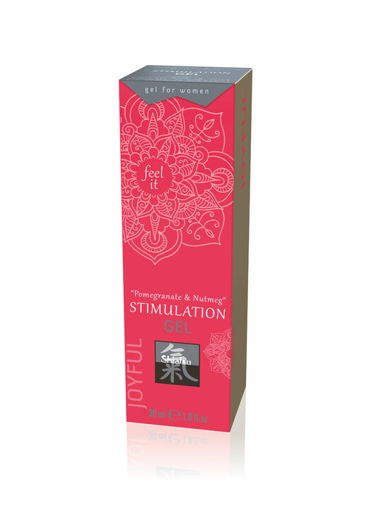 Shiatsu, Stimulation Gel, Pomegranate & Nutmeg