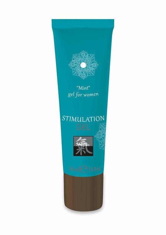 Shiatsu, Stimulation Gel, Mint
