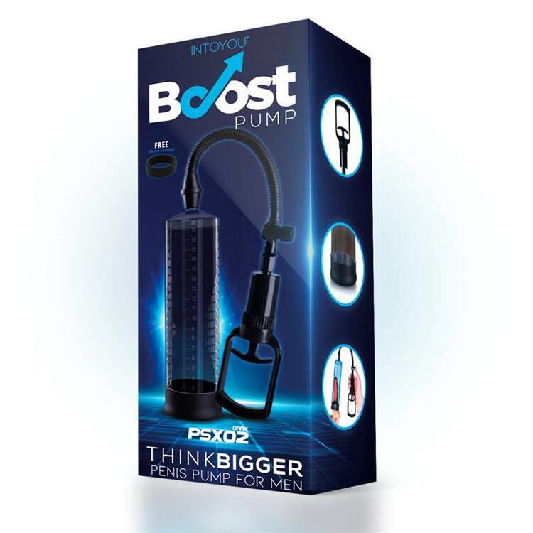 Boost pumps manual penis pump PSX02, dark